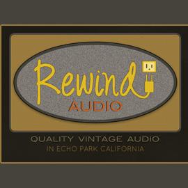 The Umbrella Agency, Los Angeles - Graphic Design, Rewind Audio Postcard